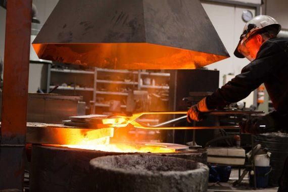 Bilde fra smelting